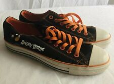 Mens Angry Bird Low Top Shoes Sneakers Size 10 Women's Size 12 Unisex