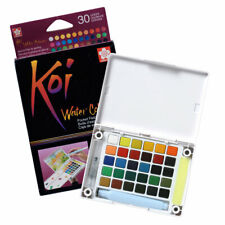 Sakura Koi Watercolour Paint Pocket Field Sketch Box Set of 30 Colours