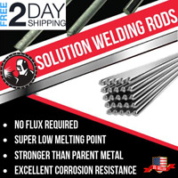 5pcs Aluminum Repair Rods No Welding Fix Cracks Polish Paint NEW