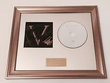SIGNED/AUTOGRAPHED BULLET FOR MY VALENTINE - VENOM FRAMED CD PRESENTATION.