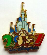 Disney Pin Badge 2007 Cinderella Castle Collection - Chip and Dale