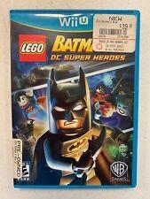 Lego Batman DC Super Heroes Wii U CASE/JACKET ONLY    NO GAME DISC