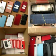 Bulk Wholesale Various Lot Clear Hard Pc Mixed Cell Phone Cases Cover For iPhone