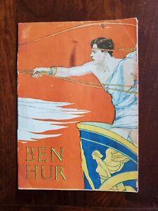 Vintage 1925 Ben Hur Souvenir Program South Bend Indiana MGM