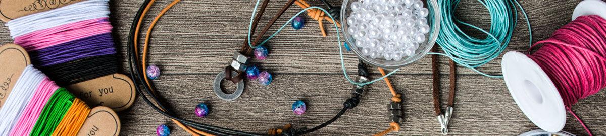 1 Lederband Lederriemchen 2 mm in blau zum Perlen auffädeln und basteln