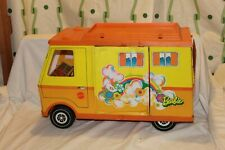 Vintage Barbie Country Camper 1971 Yellow Orange Rv Toy Vehicle
