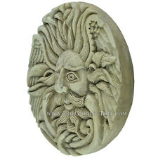 Belenos ~ Celtic Sun God Plaque by Oberon Zell ~ Whitestone