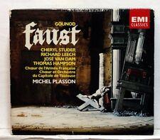 MICHEL PLASSON, CHERYL STUDER, MARC BARRARD - GOUNOD Faust EMI 3xCDs NM