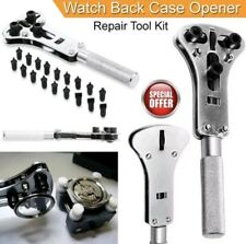 New Pro Rolex Watch Back Case Opener Screw Wrench Repair Tool Kit Cover Remover