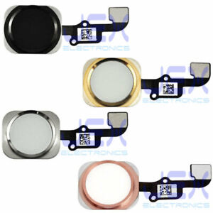 Home Button/Touch Fingerprint ID Sensor Flex Cable For iPhone 6 and 6S Plus