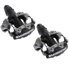 Shimano PD M520 Bicicleta De Montaña MONTAÑA XC SPD Sin clip Pedales - Negro