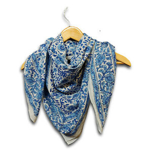 Large Cotton Scarfs for Women Lightweight Soft Sheer Neck Scarf Head Scarf 42x42
