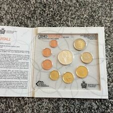Coffret SAINT MARIN 2014 - 8 pièces + pièce en argent de 5 €