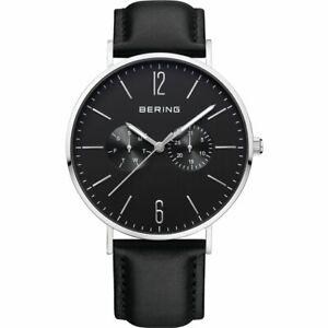 Bering Men's Wristwatch Ultra Slim 14240-402 Leather