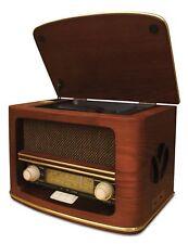 Retro Holz Nostalgie Radio mit CD MP 3 USB