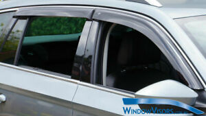 Window Visors Weathershields 4pcs weather shields for Skoda Kodiaq 2016-2020