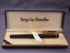 Sheaffer White Dot  Matte Black Targa Classic Fountain Pen--medium