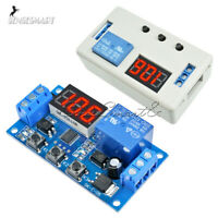 Digital 12V Delay Timer Control Switch LED Display Automation Relay Module Board