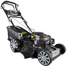GartenXL Benzin Rasenmäher 196ccm Selbstantrieb Motormäher Mäher Benzinmäher