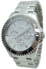 Guess Uhr Uhren Damenuhr Multifunktion W0231L1 Ladies Sport silber Armband NEU