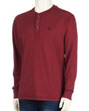 Wolverine - Men's XL - NWT - Red Burke Gravel-Washed 100% Cotton Henley Shirt