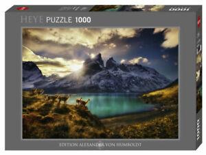 Heye Puzzles - 1000 Pièce Puzzle Guanacos HY29815