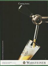 WARSTEINER BEER - 1991 Print Ad