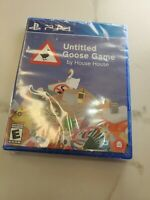 Untitled Goose Game (Physical Disc Version) (PS4 / PlayStation 4) BRAND NEW