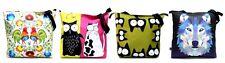 Zipped bag with unique patterns. Torba na zamek XXL,Gaul Designs.