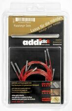 addi Click Cords and Connector for Lace Interchangeable Knitting Needles