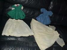 4 Assorted Vintage Doll Clothes L@K!