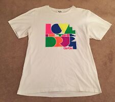 Men's Gio-Goi T.shirt Top White Size Large Size 3