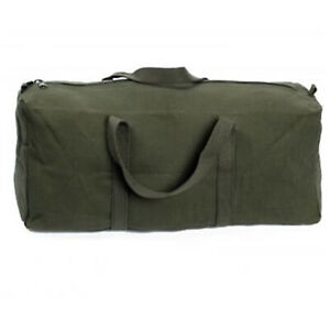 """Heavy Duty Cotton Canvas Tool Bag OLIVE 18"""""""