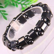 Black Magnetic Hematite Beads men's & women's Bracelet Hot Sale Present