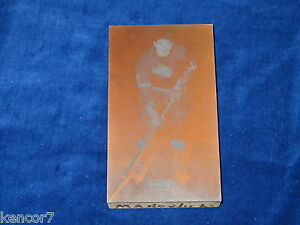 Pete Mahovlich Detroit Red Wings Printer's Plate E1677