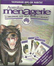 AUSTRALIAN MENAGERIE BOARD GAME - ADD-ON PACK - TASMANIAN HABITAT
