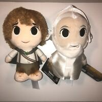 New With Tags LOTR Pair Funko SuperCute Plushies Samwise Gamgee And White Wizard
