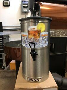Bunn Iced Tea Dispenser 4 Gallon Urn with Lid and Faucet