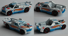 "Hot Wheels - Fig Rig weiß/blau ""HW Race"""