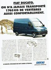 PUBLICITE ADVERTISING 126  1994  Fiat  le Ducato   utilitaire