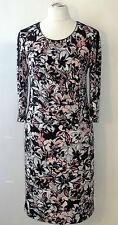 festliches Gerry Weber Etuikleid Gr. 48 Kleid Elastan Damenkleid Viskosenkleid