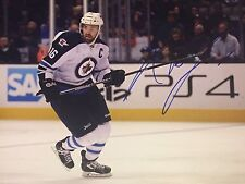 ANDREW LADD SIGNED WINNIPEG JETS 11X14 PHOTO AUTO
