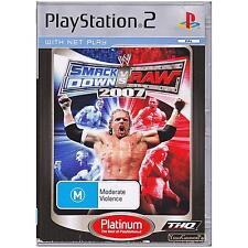 PLAYSTATION 2 SMACKDOWN VS RAW 2007 PAL PS2 PLATINUM [UVG] YOUR GAMES PAL
