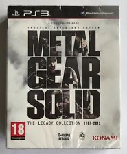 PS3 Metal Gear Solid The Legacy Collection (2013), UK PAL, NEW & FACTORY SEALED