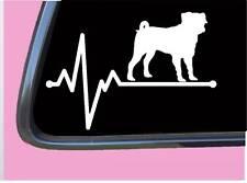 "Puggle Lifeline Tp 578 vinyl 8"" Decal Sticker dog beagle pu 00004000 g designer breed"
