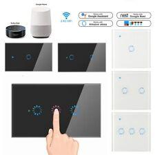 1/2/3 банда WiFi смарт-сенсорный выключатель света США/ЕС/ВБ для Amazon Алекса Google ifttt