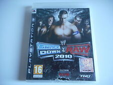 JEUX PLAYSTATION 3. PS3 - SMACKDOWN VS RAW 2010 - COMPLET