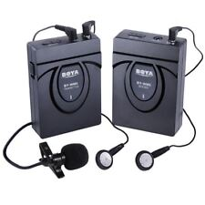 BOYA BY-WM5 Wireless Lavalier Microphone Audio Recorder for Cameras/Camcorder/DV