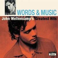 "JOHN MELLENCAMP ""WORDS & MUSIC GREATEST HITS"" 2 CD NEU"
