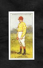 1930 Ogden's Cigarette Card Jockey 1930 No44 W. Stephenson